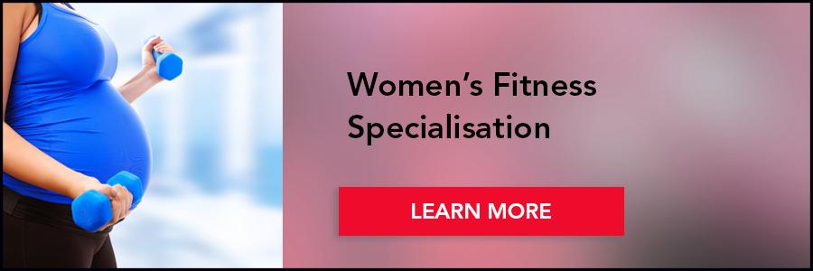 Women's fitness spec banner
