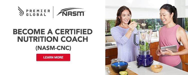Become A Certified Nutrition Coach (NASM-CNC)
