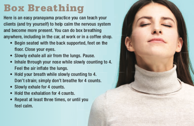 box breathing meditation steps